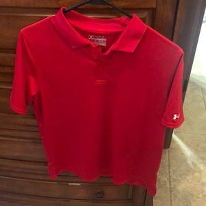 Under Armour golf shirt youth boys
